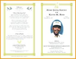 Memorial Pamphlet Template Template Funeral Program Inspirational Funeral Program Templates
