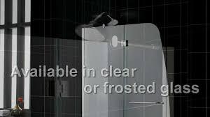 dreamline aqua shower door and aqua tub door