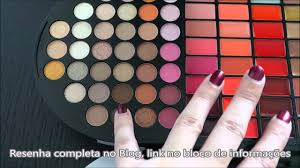 resenha brilliant makeup palette sephora you