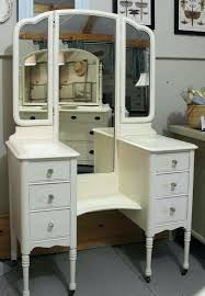 white makeup vanity furniture white wooden makeup vanity with six drawers and three mirror panels on white makeup
