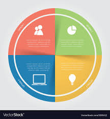 Color Circular Chart Infographic