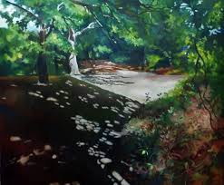 sunny day home office. sunny day in the forest alison chaplin painted landscapes look great home office or hallway i