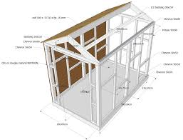 Awesome Plan Toiture Abri De Jardin Photos Amazing House Design