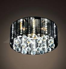 chandelier black shade satin nickel black shade 5 light crystal ceiling mount lamp chandelier brass chandelier