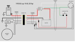 1958 evinrude 18hp electric start page 1 iboats boating forums Outboard Boat Wiring Diagram click image for larger version name 58to60fastwinwiring for elect start jpg views 4 outboard boat gauge wiring diagram