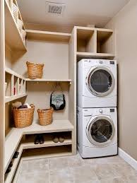 laundry room furniture. Small Laundry Room Ideas Stacked Washer And Dryer Furniture Shamand.com