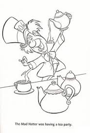 Small Picture Alice in wonderland mad hatter coloring page Coloring Pages For