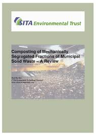 (PDF) Composting of Mechanically Segregated Fractions of ...