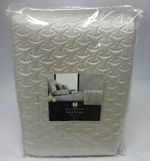 Hotel Collection Rings Quilted Coverlet Oyster King &  Adamdwight.com