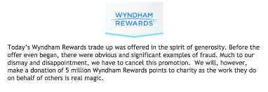 Wyndham Rewards Offering Spg Members 4 1 Points Swap