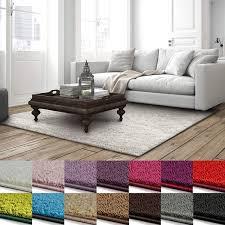 Casa Pura Shaggy Teppich Barcelona Weicher Hochflor Teppich Für