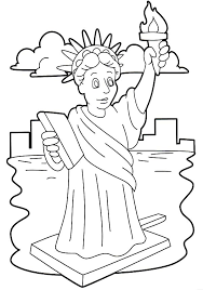 Small Picture Stunning Statue of Liberty Coloring Page Download Print Online
