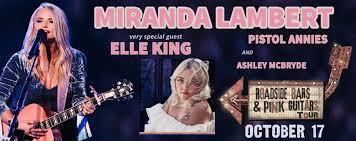 Miranda Lambert Seating Chart Event Information Fargodome