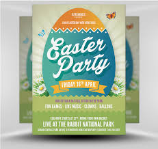 Easter Party Flyer Template V6 Flyerheroes