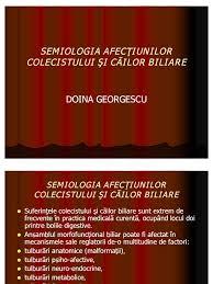 rolul colecistului