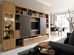 contemporary entertainment centers wall units wood  aio