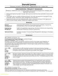 Construction Project Manager Resume Template Gorgeous Web Project Manager Resume Examples Luxury Construction Project