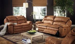 Mission Living Room Set Living Room Attractive Mission Rustic Brown Faux Leather Sofa