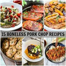 15 boneless pork chop recipes dinner