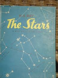 Star Chart Book H A Rey The Stars Hardback True First Edition 1952 Vintage