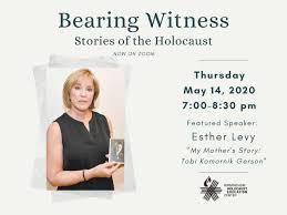 Birmingham Holocaust Education Center - May 20, 2020: Bearing ...