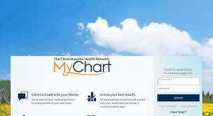Access Thechristhospitalmychart Com Mychart Application
