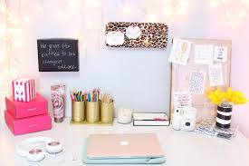 incredible pink office desk beautiful home. Inspirational Office Desk Accessories Elegant : Lovely 7495 Amazing Cute Fice Top Decorating Home Incredible Pink Beautiful P