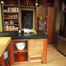 Chalkboard Kitchen Wall Chalkboard Paint In Kitchen Ideas Kitchen Contemporary With Small