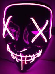 Led Light Up Mask Purge Amazon Com Ultaplay New And High Quality Mask Led Light