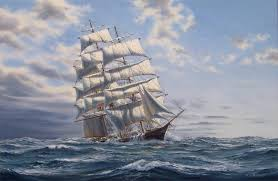 clipper ship comet flying cloud glory of the seas