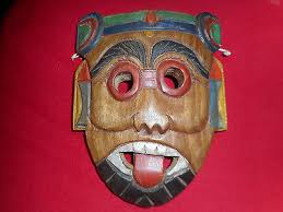 vintage maori or thai carved wood mask new zealand nz tribal tiki wall art on tiki wall art nz with vintage maori or thai carved wood mask new zealand nz tribal tiki