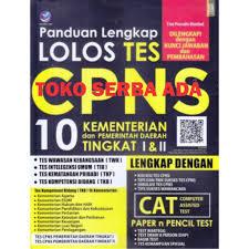 Berikut adalah cuplikan video berisikan tentang pembahasan latihan soal cpns (simulasi cat bkn) untuk kategori tes intelegensi umu (tiu). Panduan Lengkap Lolos Tes Cpns 10 Kementerian Dan Pemerintah Daerah Tingkat I Ii Lengkap Shopee Indonesia