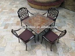 painting cast aluminum patio furniture home design ideas spray painting metal patio table
