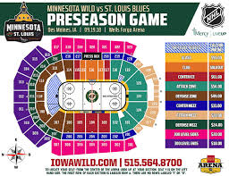 27 Memorable Minnesota Wild Seat Viewer