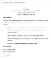Resume Sample Medical Assistant