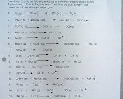 chemical equations reactions ppt