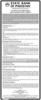 job in state bank of sbp job rd batch of og officers job in state bank of sbp job 3rd batch of og 1 officers nts written test nts test result