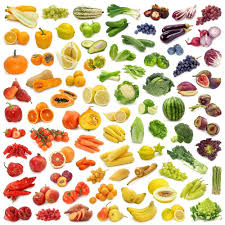 Rainbow Fruits And Vegetables Chart