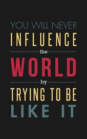 Influence the world - The Art Of Life Studio via Relatably.com