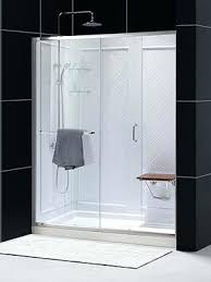 48 by 48 shower base infinity z sliding shower door by single threshold shower base and