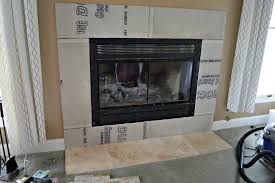 prepping the fireplace walls for tile laughingabi com
