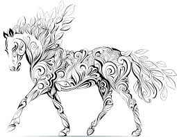 Coloring Horse Pages Printable Coloring Pages Of Horses Coloring