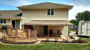 how much do sunsetter awnings cost retractable patio awnings costco sunsetter awnings