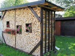 20+ Creative Outdoor Firewood Storage Ideas You Need To See