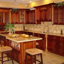 Modern Kitchen Wood Cabinets Home Design Cherry Kitchen Cabinets