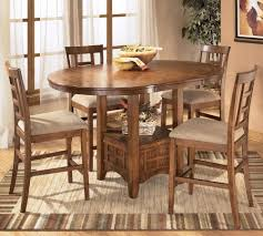 Ashley Furniture Kitchen Chairs Dinette Table Sets The Height Dining Room Table Set Vidrian