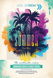 Summer Party Flyers Flyers Summer Insaat Mcpgroup Co