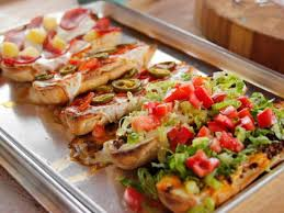 homemade french bread pizza. Interesting Pizza In Homemade French Bread Pizza H