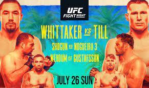 UFC Fight Night 174: The Fight Site ...