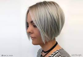 A short stacked bob is all you need and again this style looks super cute for women of all age especially those in their 60s. 21 Bob Hairstyles For Fine Hair Trending In 2021